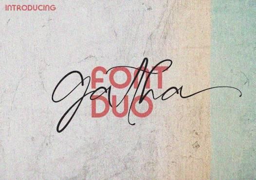 Gatha Font Duo free download