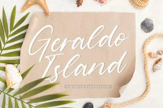 Geraldo Island Font free download
