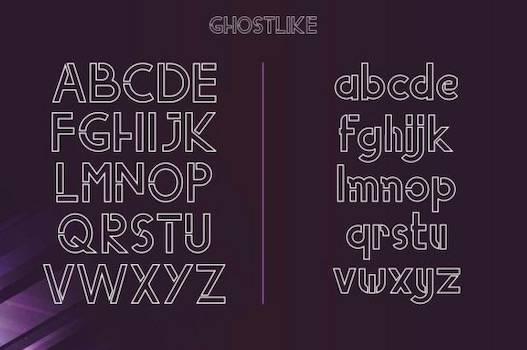 Ghostlike Font free