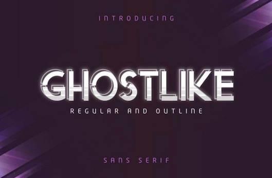 Ghostlike Font free download