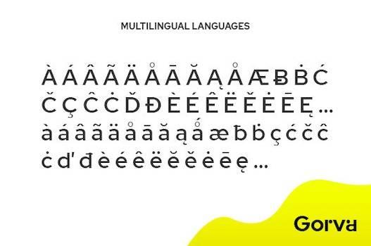 Gorva Font download