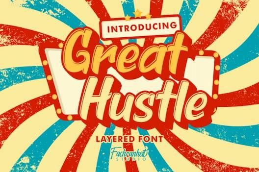 Great Hustle Font free download