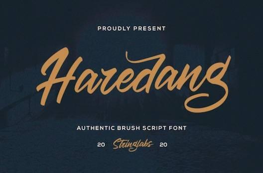 Haredang Font free download