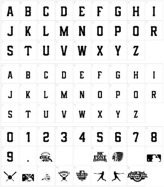 IFC Hardball Font