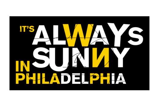 It's Always Sunny in Philadelphia Font