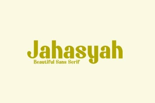 Jahasyah Sans Serif