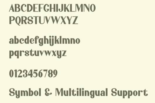Jahasyah Sans Serif Font download