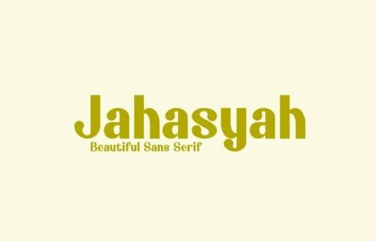 free Jahasyah Sans Serif Font
