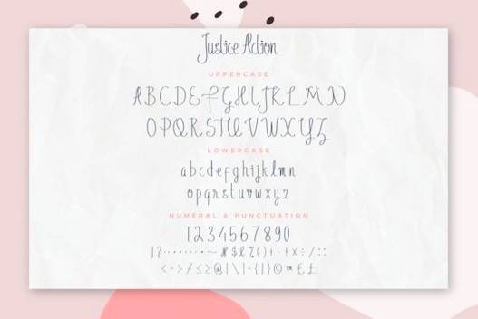 Justice Action Font Duo download