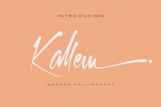 Kallem Font free download