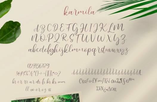 Karmila Font download