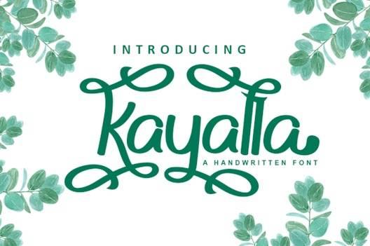 Kayalla Font free