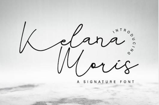 Kelana Moris Font free download