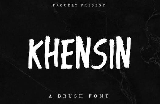 Khensin Font free download