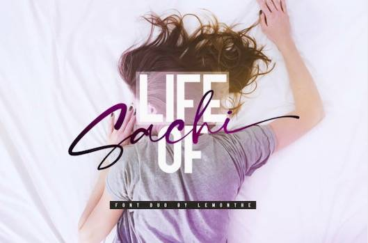 Life of Sachi Font Duo free download