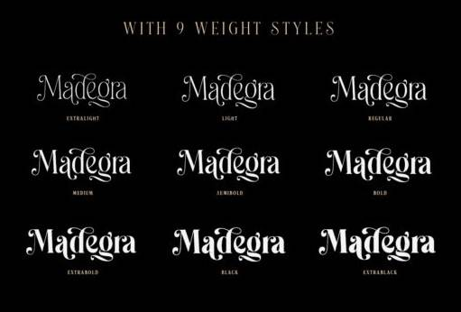 Madegra font free