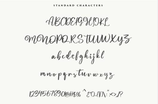 Magnolia Font free