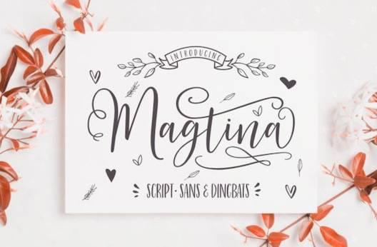 Magtina Font free download