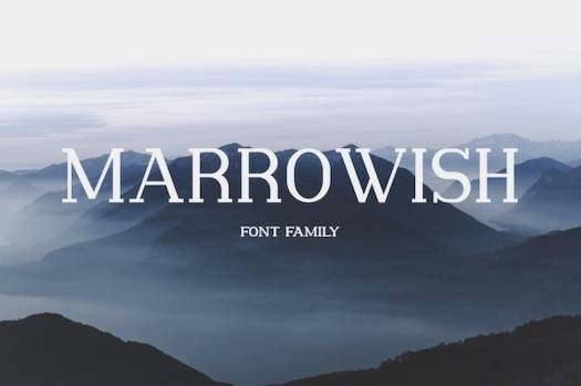 Marrowish Font Family download free