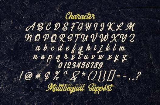 Megahunt Font free