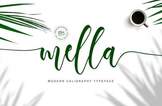 Mella typeface free download