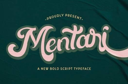 Mentari Font free download