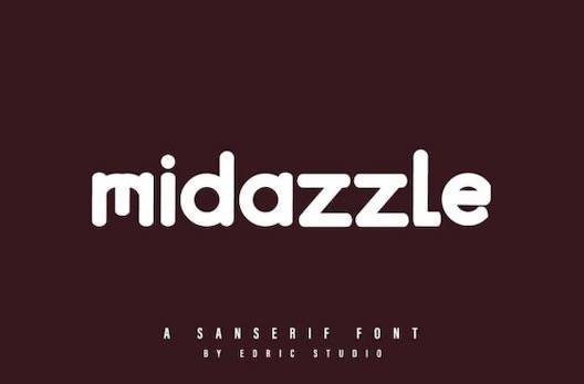 Midazzle Font free download