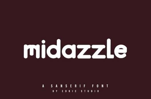 Midazzle Font download