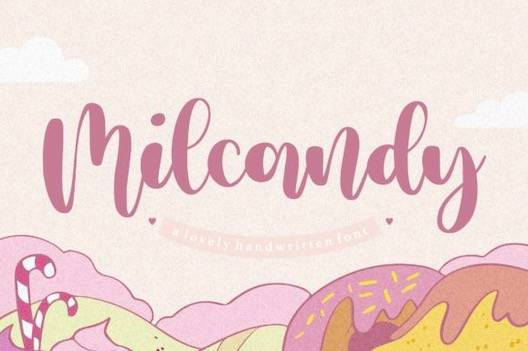 Milcandy Font free download