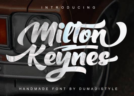 Milton Keynes Bold Font