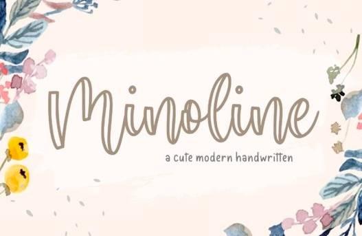 Minoline Font free download