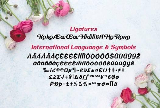 Mirando Font free download