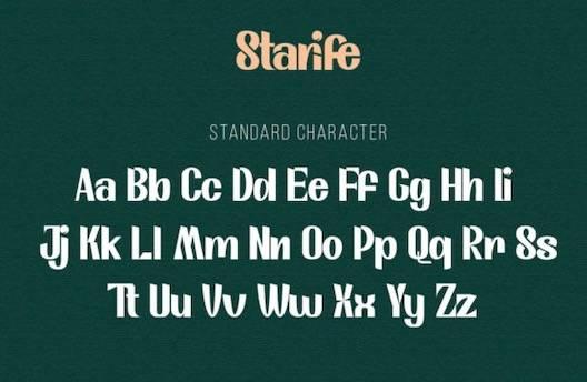 Modern Typeface free