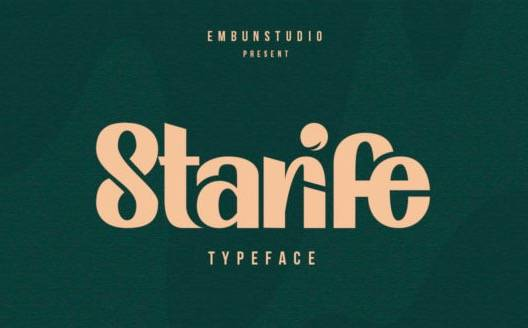 Modern Typeface free download