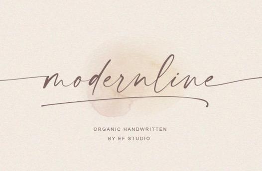 Modernline Font free download