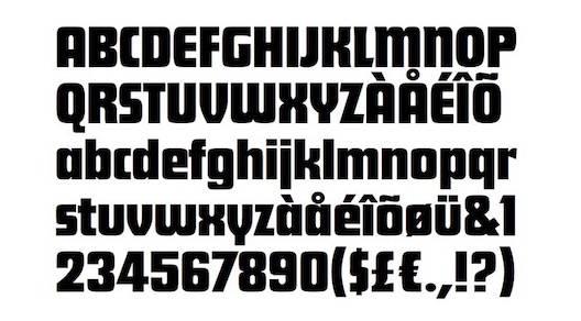 My Hero Academia Font