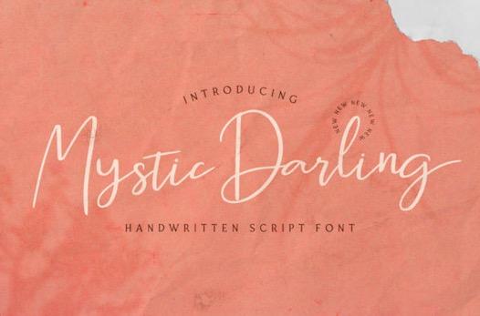 Mystic Darling Font free download