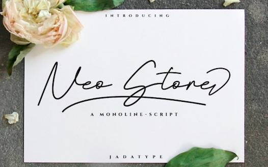 Neo Stone Font free download