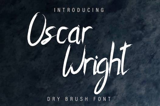 Oscar Wright Font free download