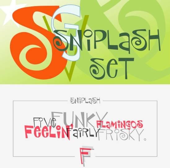 P22 Sniplash Font