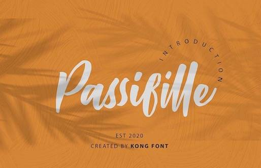 Passifille Font free download