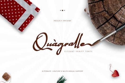 Quagralle Font download