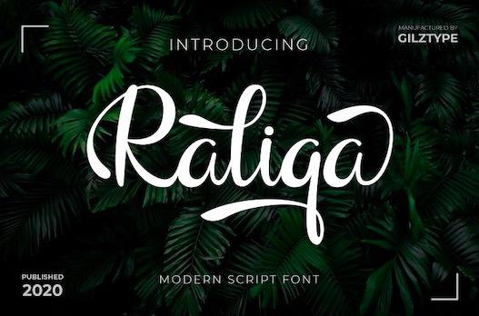 Raliqa Font free download