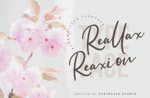 Reallax Reaxion Font free download