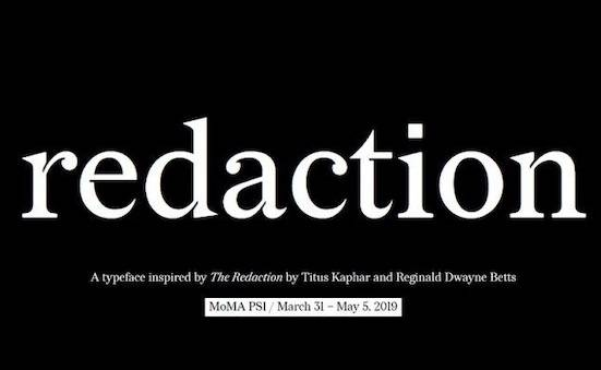 Redaction Font free download