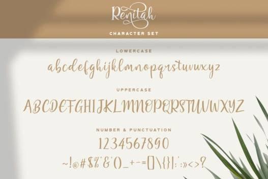 Renitah Font free
