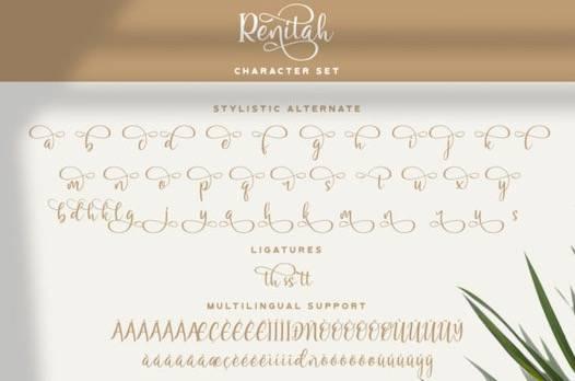 Renitah Font