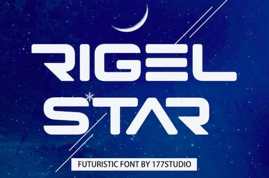Rigel Star Font free download