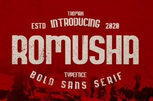 Romusha Font