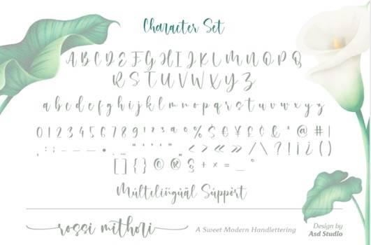 Rossi Mithori font free download